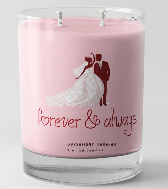 Socialight Candles - Always  &  Forever Scented Candle