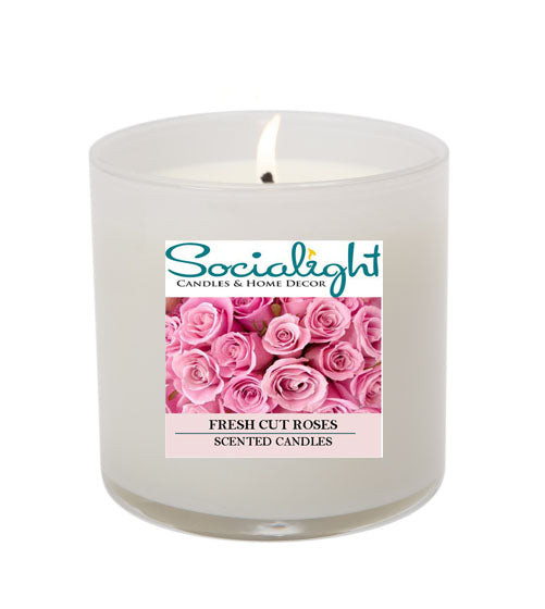 Fresh Cut Roses 16 oz Soy Candle