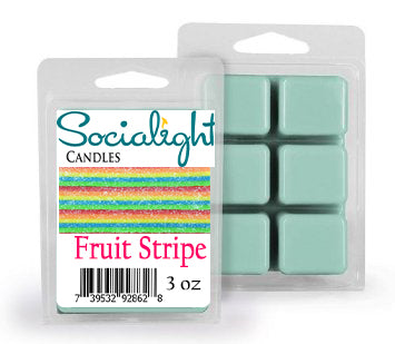 Socialight Candles - Fruit Stripe Scented Wax Melts