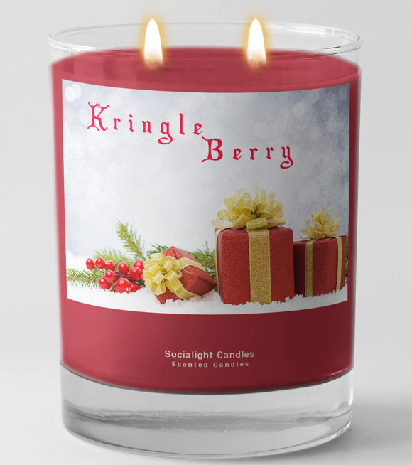 Socialight Candles - Kringle Berry 11 oz Container Candle