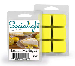 Socialight Candles - Lemon Meringue Pie Scented Wax Melts
