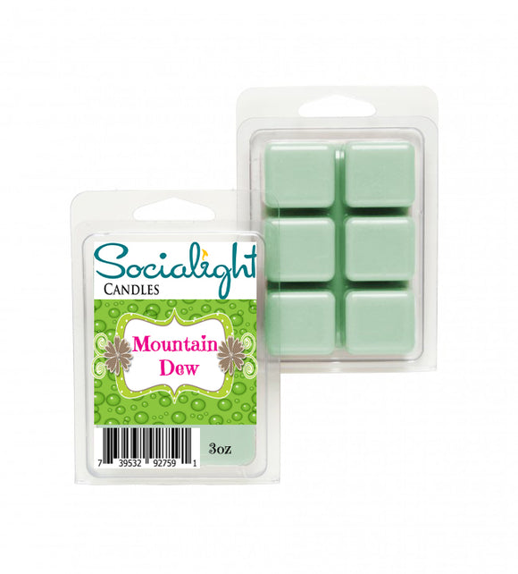 Socialight Candles -Mountain Dew Scented Wax Melts