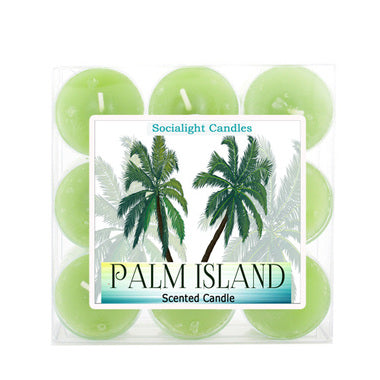 Palm Island Scented Tealight Candles