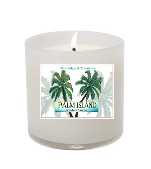 Palm Island 16 oz Soy Candle