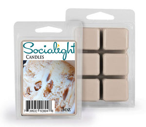 Socialight Candles - Pralines & Cream Scented Wax Melts