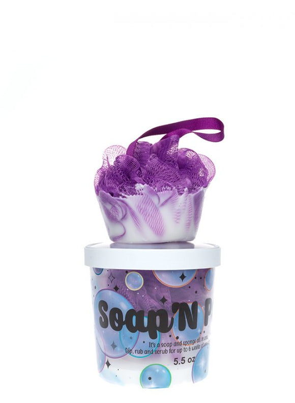 Socialight Candles - Fizz Soap'N Pouf