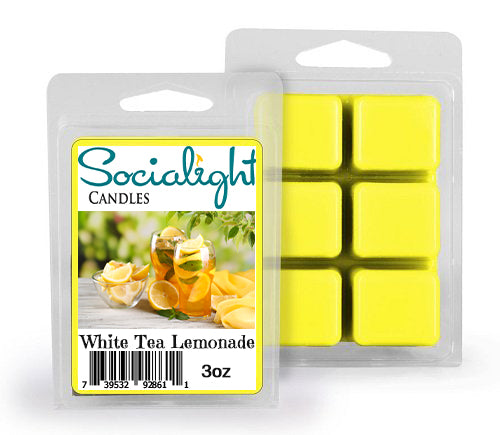 Socialight Candles - White Tea Lemonade Scented Wax Melts