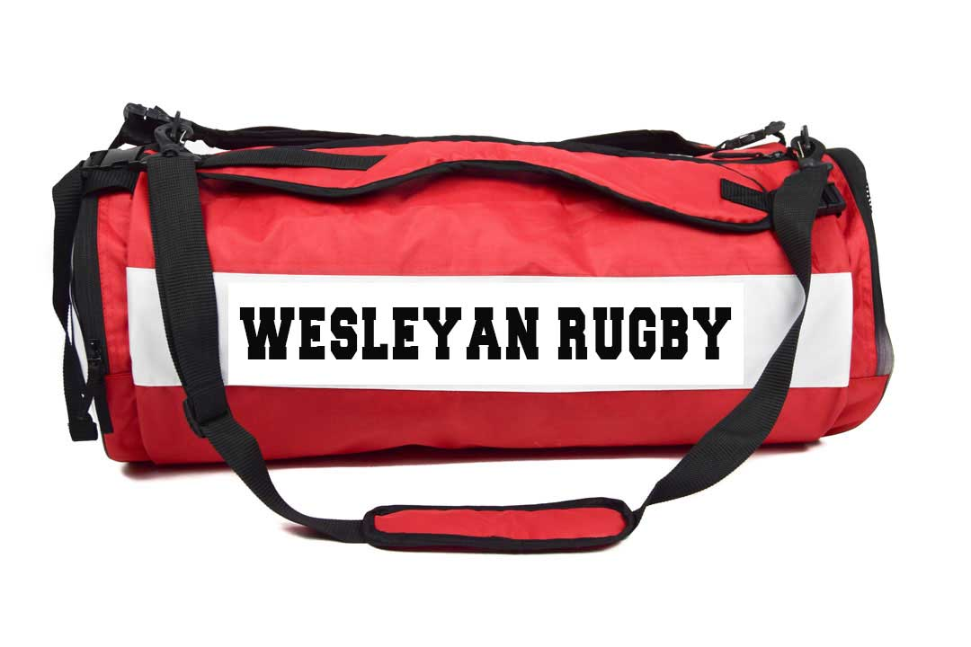 Wesleyan Women Barrel Bag