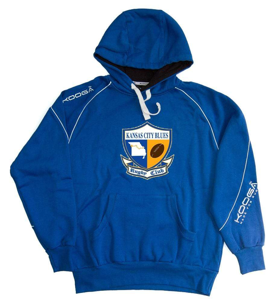 KC Blues Kooga Hoody - Ruggers Rugby Supply