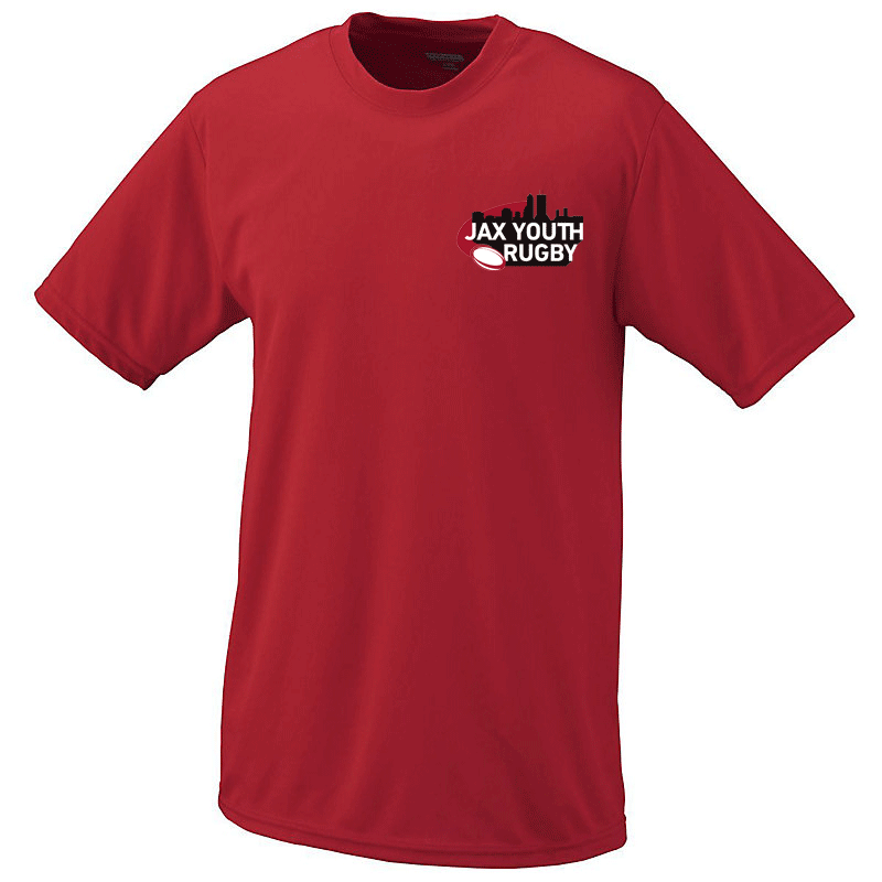 JAX Youth RFC Training Tee - Ruggers Rugby Supply