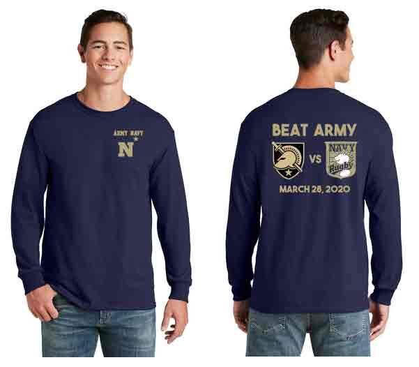 Navy Alumni - Army Navy Long Sleeve  Commemorative Tee