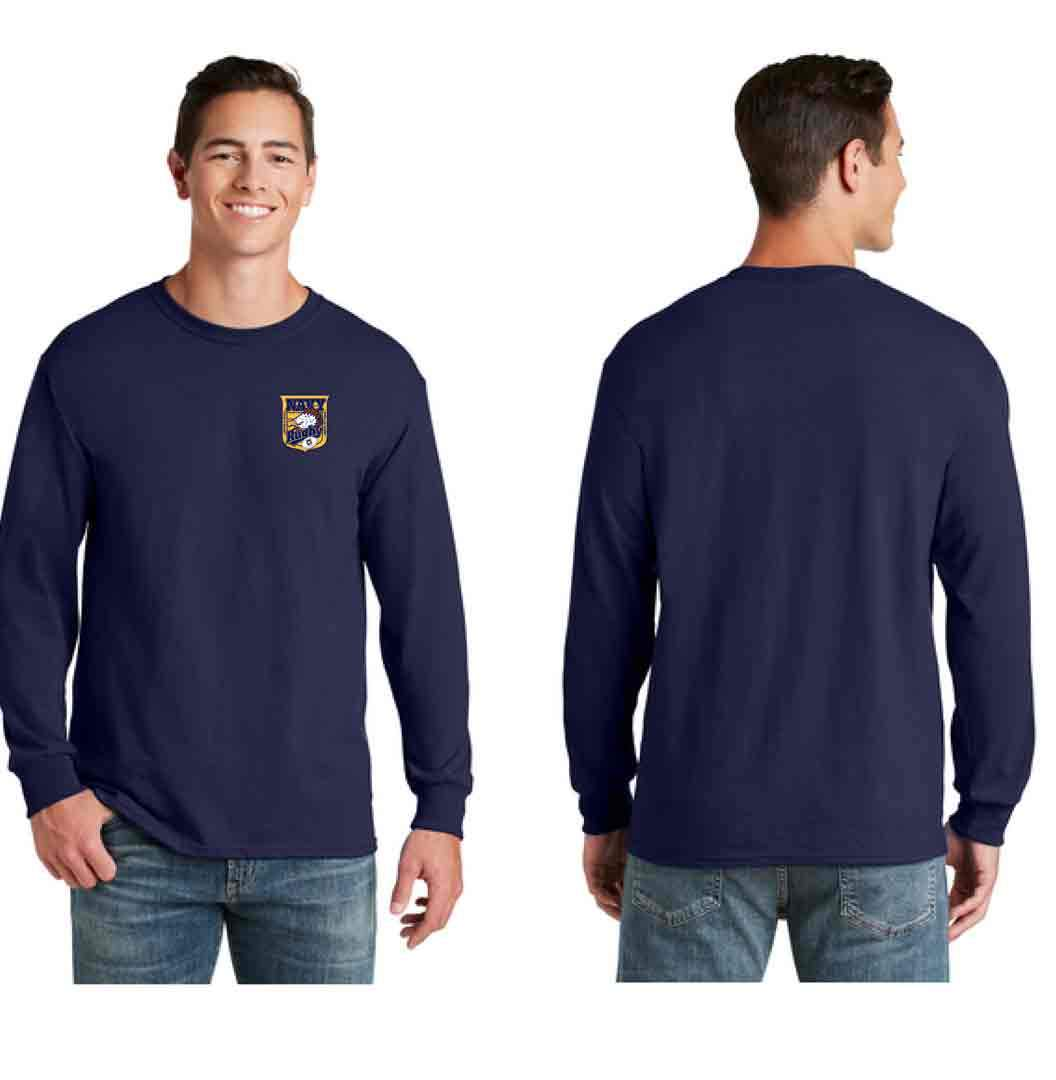 Navy Alumni Long Sleeved Tee
