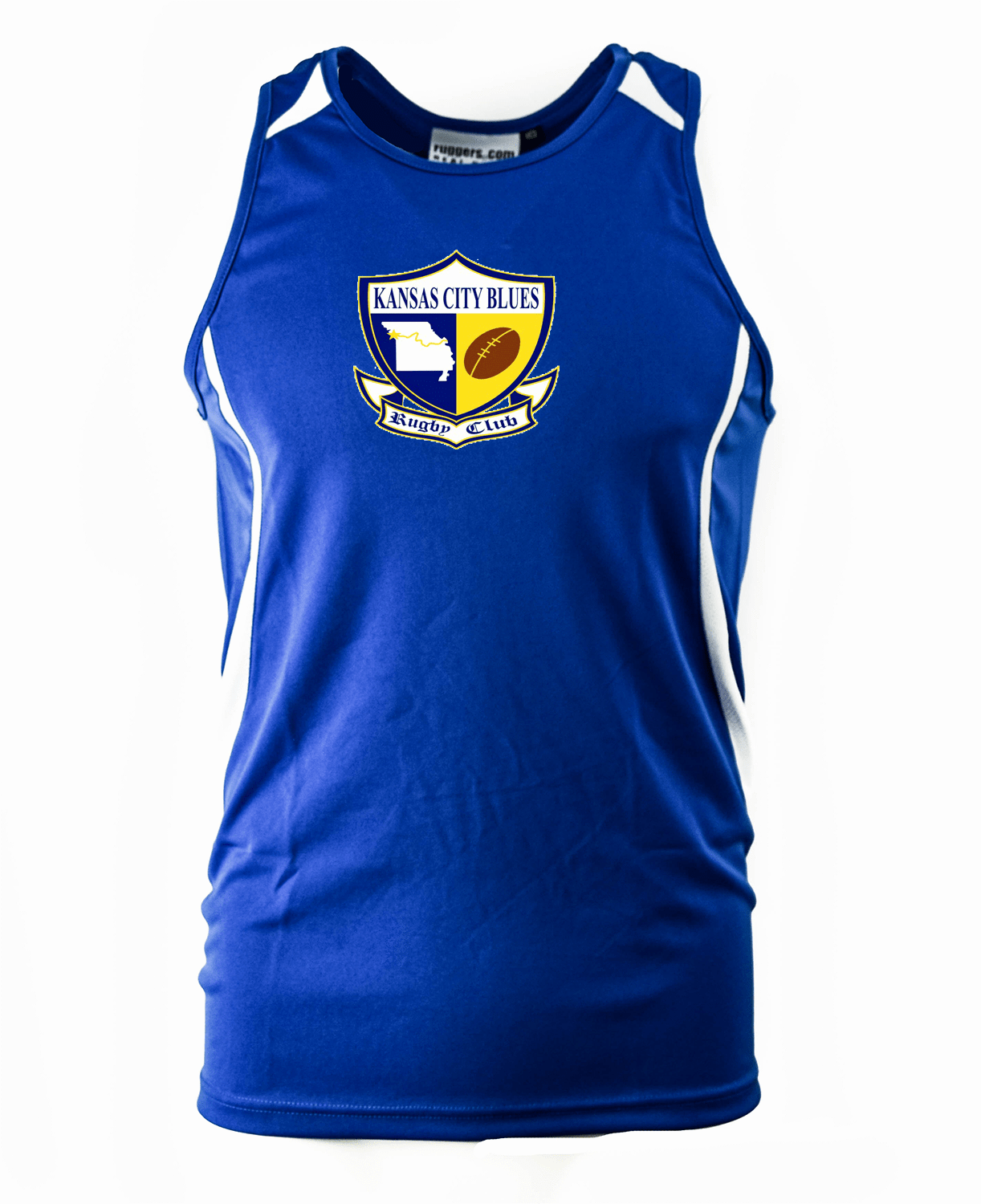 KC Blues Sleeveless Training Tee - Ruggers Rugby Supply