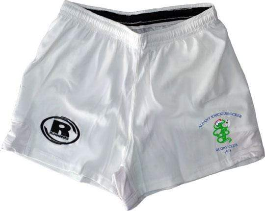 Albany Knicks White Short - Ruggers Rugby Supply