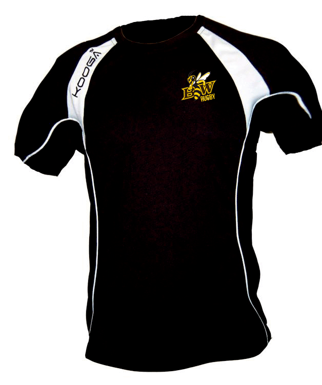 BWU Yellow Jackets Rugby Training Tee