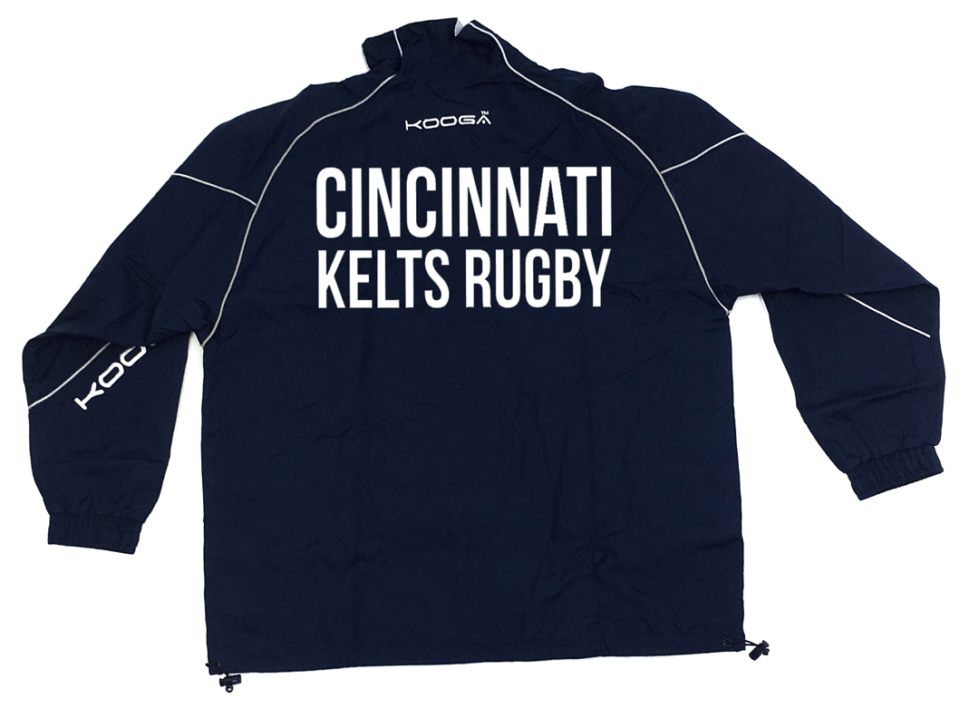 Cincinnati Kelts Kooga Tracksuit Jacket - Ruggers Rugby Supply