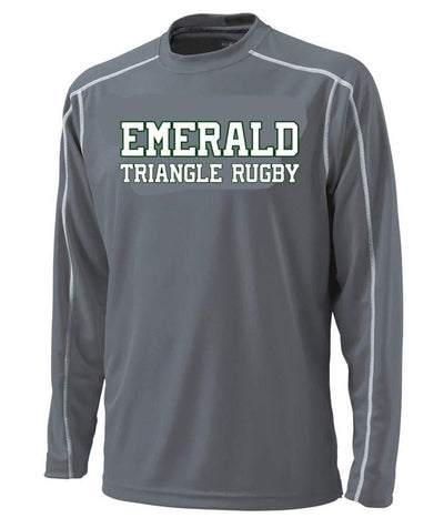 Emerald Triangle L/S Training Tee - Ruggers Rugby Supply