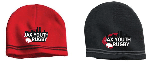 JAX Youth Knit Beanie - Ruggers Rugby Supply