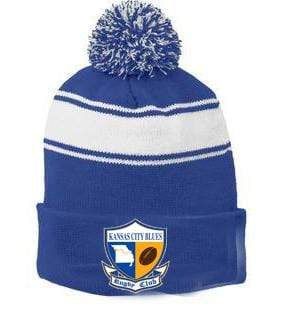 KC Blues Pom Pom - Ruggers Rugby Supply