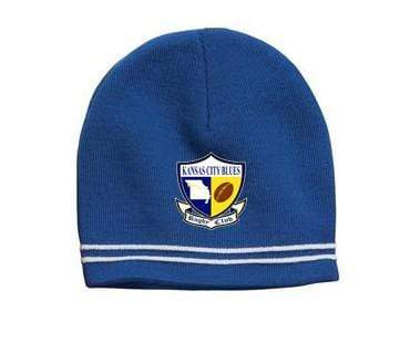 KC Blues Spectator Beanie - Ruggers Rugby Supply