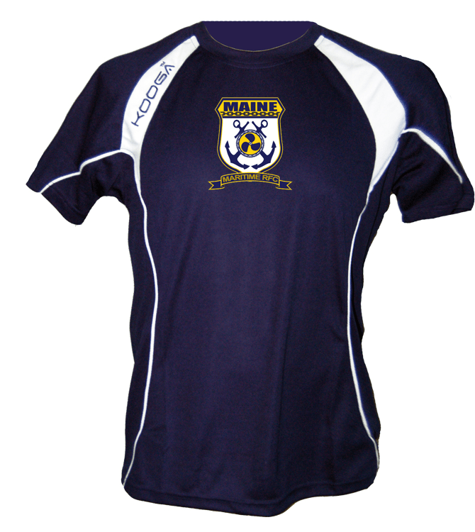 Maine Maritime Academy Kooga Training Tee - Ruggers Rugby Supply