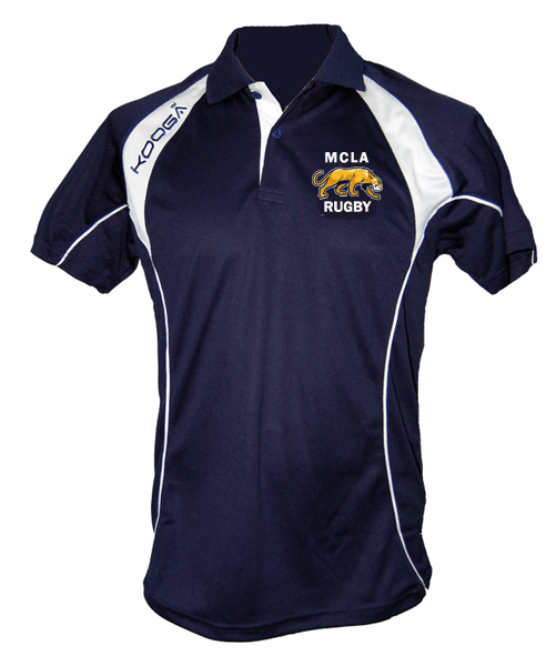 MCLA Kooga Polo Shirt - Ruggers Rugby Supply