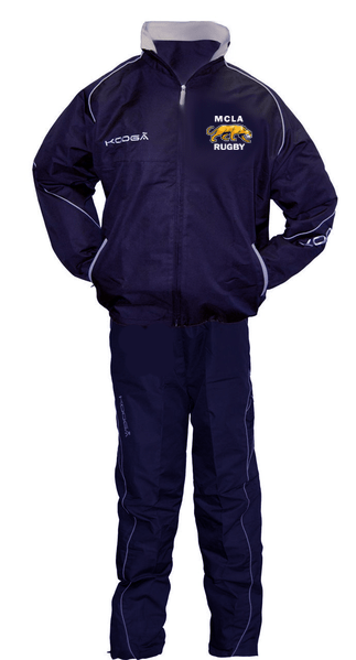 MCLA Kooga Tracksuit - Ruggers Rugby Supply
