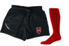 Mustangs Kooga Fiji Short Sock Combo - Ruggers Rugby Supply