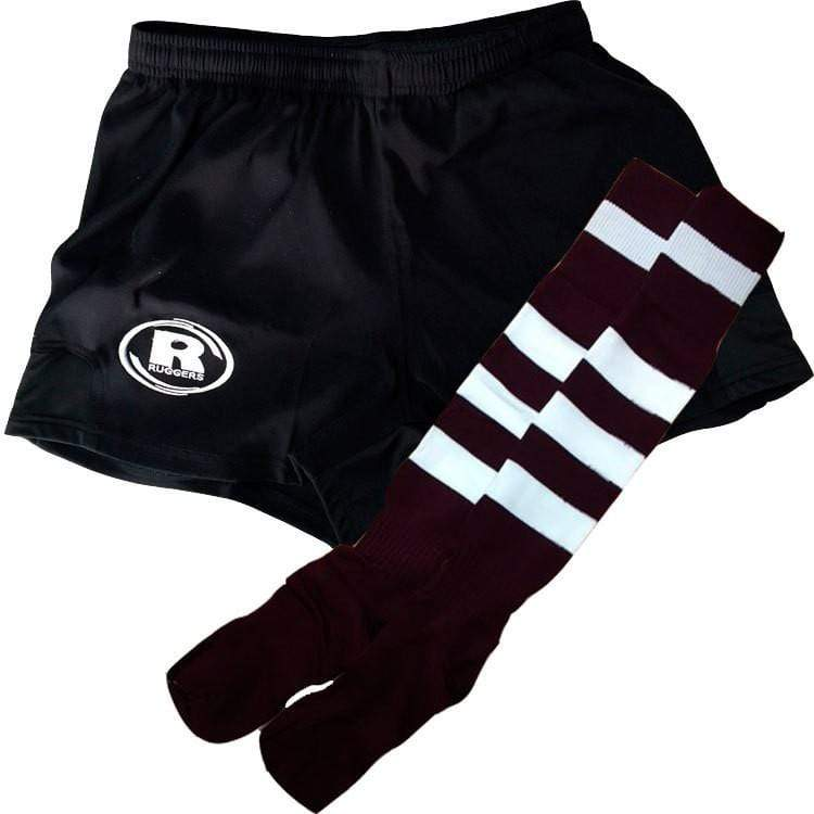 North Haven Girls Short/ Sock Combo - Ruggers Rugby Supply
