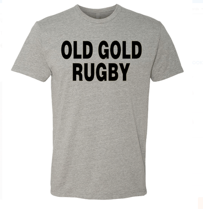 Old Gold Casual Tee - Ruggers Rugby Supply