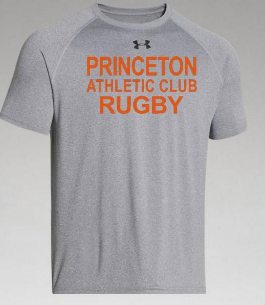 Princeton Athletic Club UA SS Training Tee - Ruggers Rugby Supply
