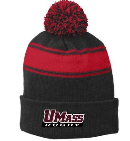 UMass Pom Pom Beanie - Ruggers Rugby Supply