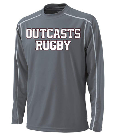 Westside Outcasts L/S Training Tee. - Ruggers Rugby Supply