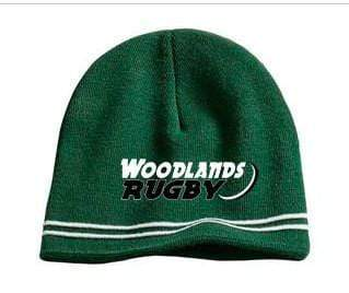 Woodlands Rugby Knit Beanie - Ruggers Rugby Supply