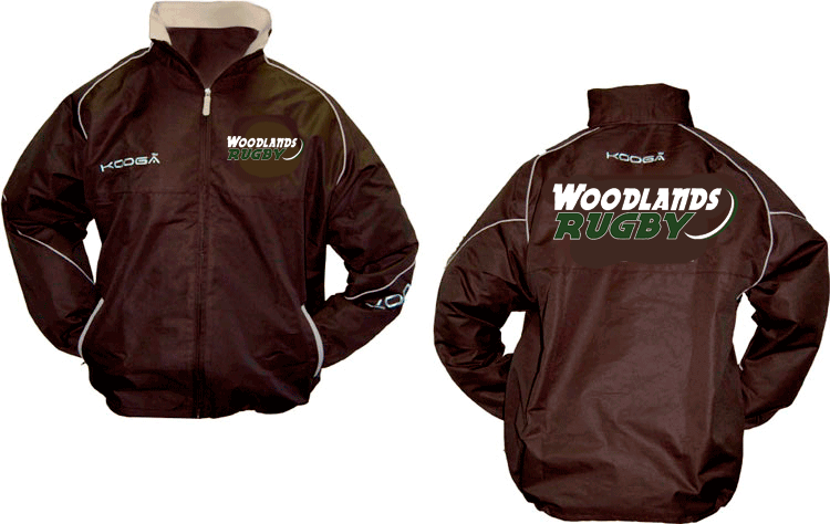 Woodlands Rugby Kooga Tracksuit Jacket - Ruggers Rugby Supply