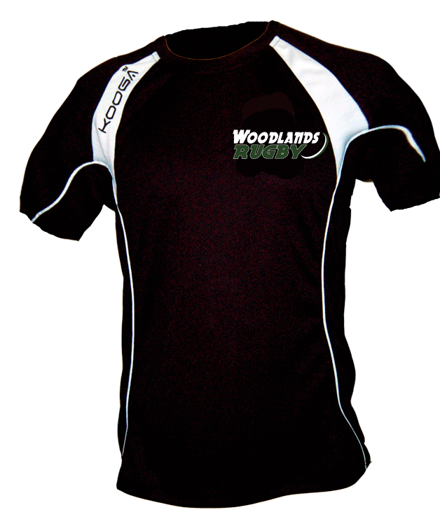 Woodlands Rugby Kooga Training Tee (Youth & Adult Sizes) - Ruggers Rugby Supply