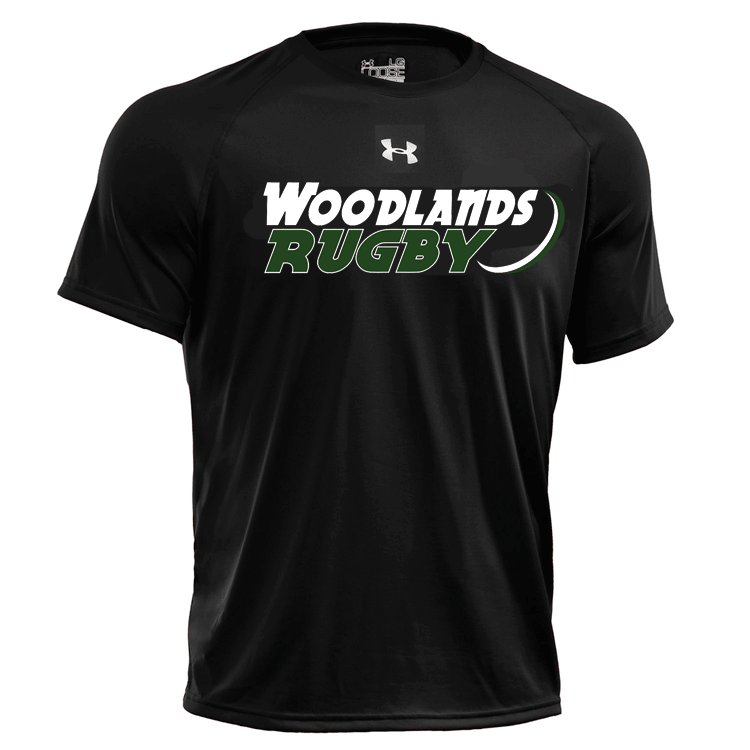Woodlands Under Armour Gym Tee - Ruggers Rugby Supply