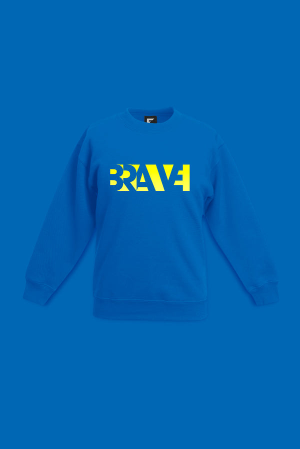 Brave Blue Sweatshirt