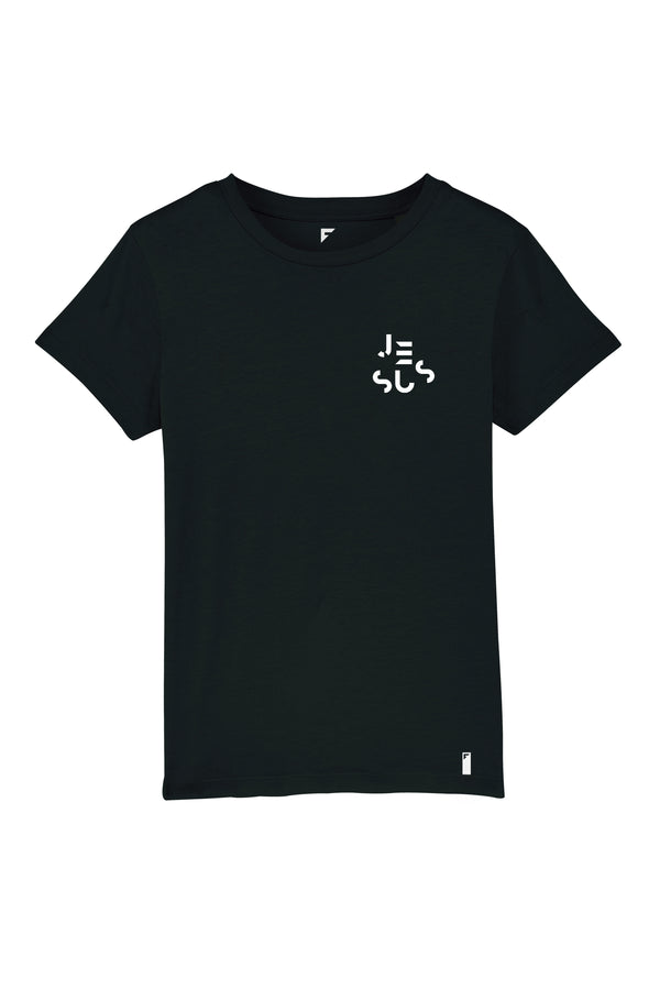 Jesus Unisex Crew Neck T-Shirt (Black)