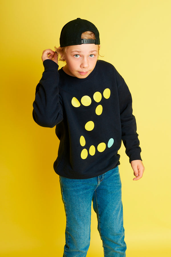 Initial French Navy Kids Sweatshirt
