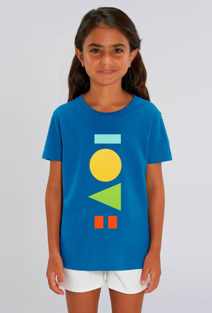 Love Royal Blue Kids T-shirt