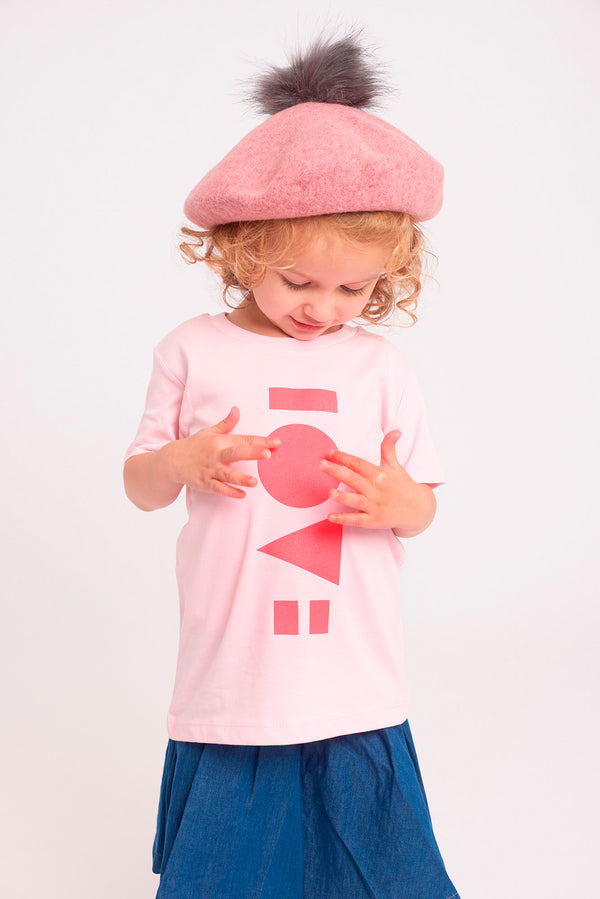 Love Cotton Pink Kids T-shirt