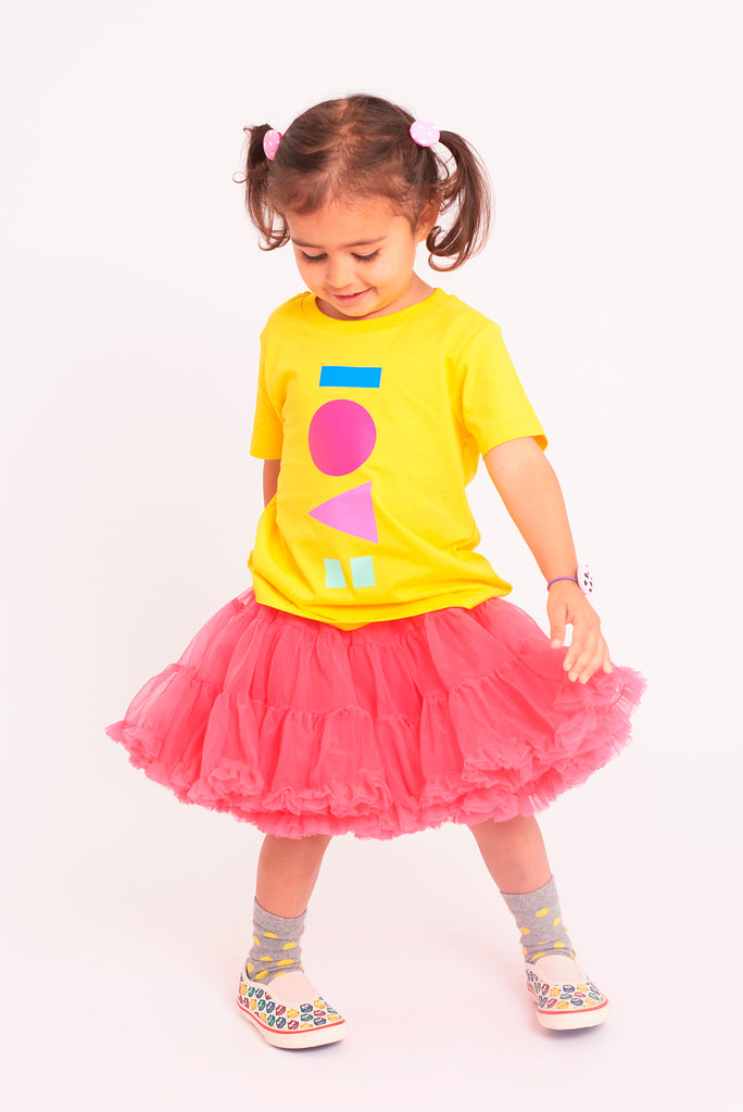Love Golden Yellow Kids T-shirt