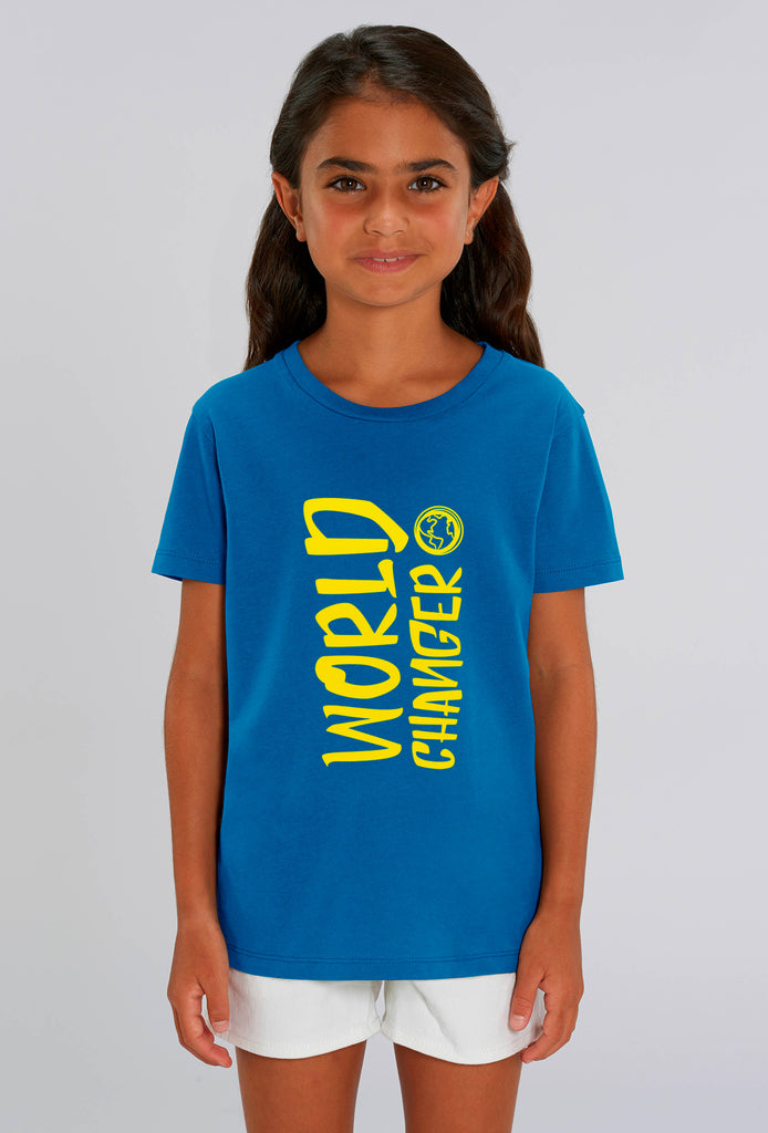 World Changer Royal Blue Kids T-shirt