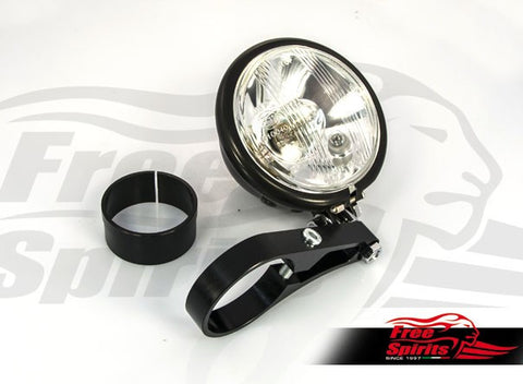 Free Spirits side light bracket (Low) kit for Triumph New Classic Liquid Cooled