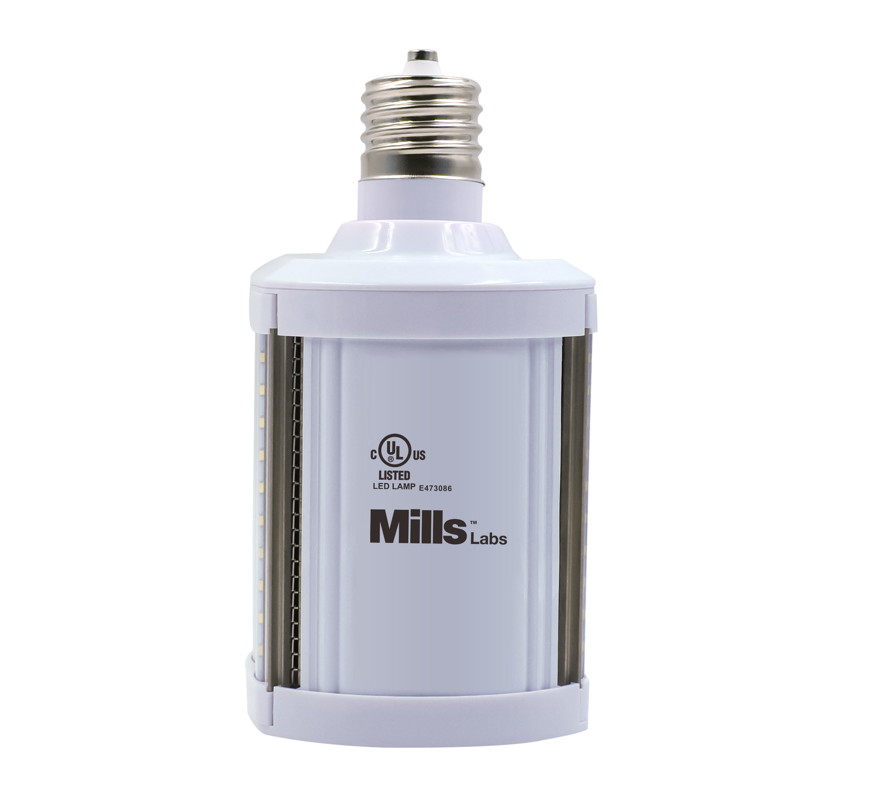 Mills Labs release 150 lumen per watt HID to LED Lamp, 120-277 Direct Wire