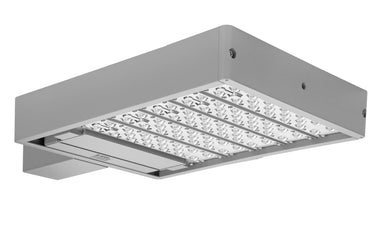 Ace 160W LED Site + Area Flood Light 120-277V Type III 5000K - Silver Gray