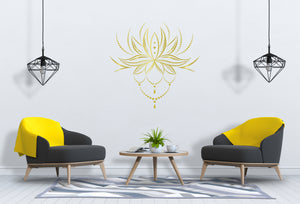 Lotus Flower Wall Decal