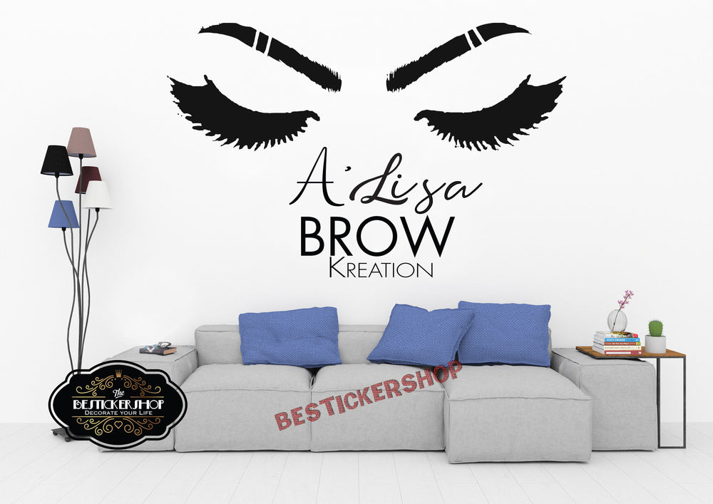 Lashes Wall Decal