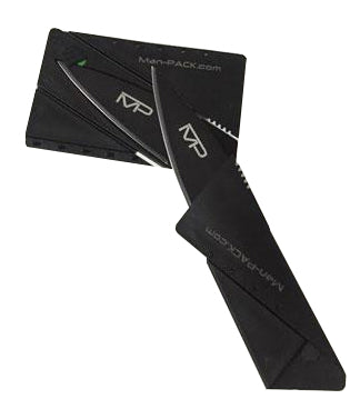 """raZor"" Ultra-Thin Folding Credit Card Knife"